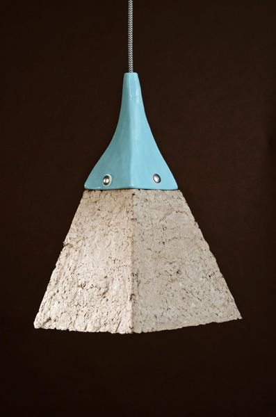 Dear Human Designs Cool Lamps From Recycled Paper Pulp