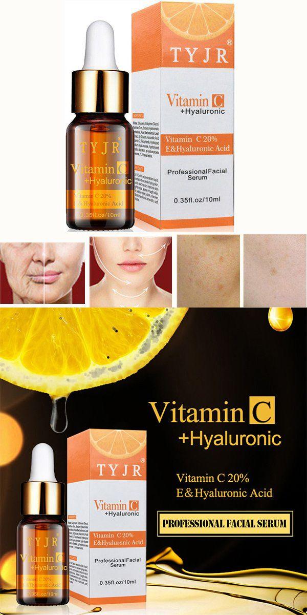 Vitamin C <b>Anti Wrinkle</b> Essence Liquid Hyaluronic Acid Moisturizing ...