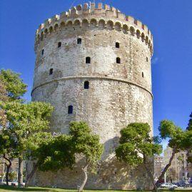De Witte Toren in Thessaloniki. www.andergriekenland.nl