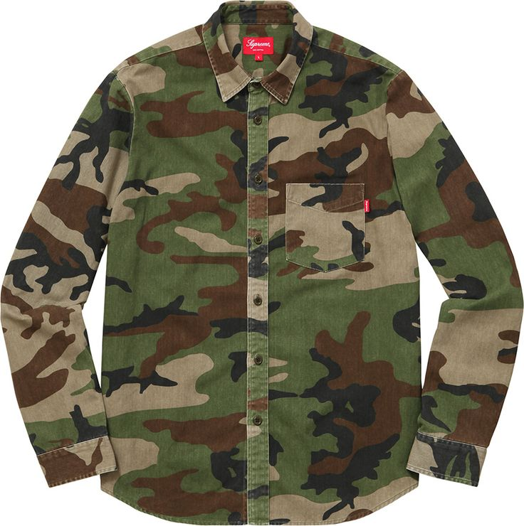 Supreme Woodland Shirt