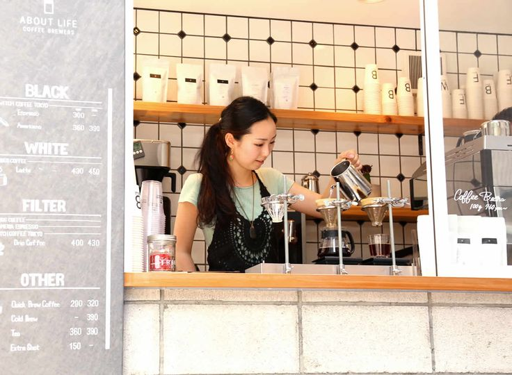 ABOUT LIFE COFFEE BREWERS  #カフェ #渋谷