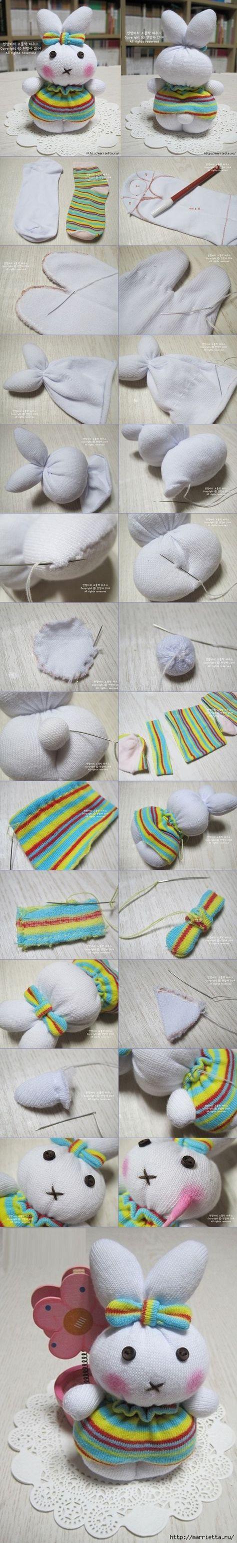 Çoraptan Oyuncak Modelleri ve Yapımı