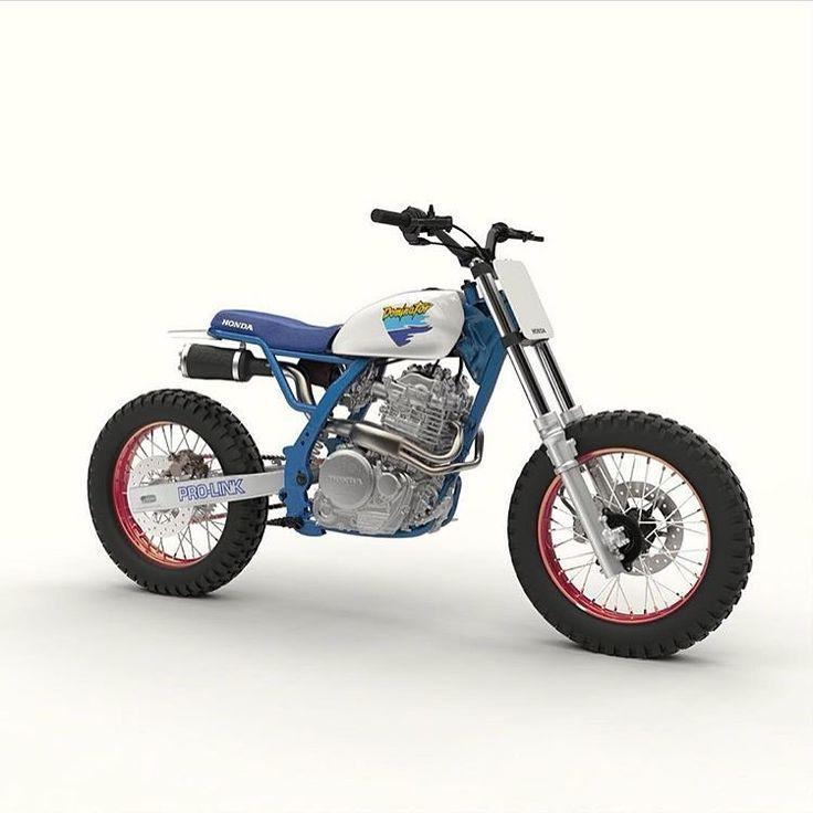 Sweeeeet Honda via @dab_design_