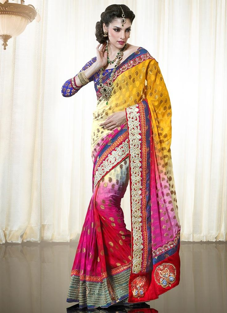 Bollywood Designer Saree Indian Party Wear By Jtinternational