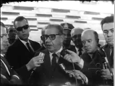 1968 - COSTA E SILVA FALA NA TV  TUPI