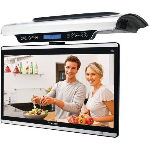 For the Kitchen.....  Includes apps to access stuff like ncluding Netflix, Vudu, Picasa, YouTube, Huluplus, and Pandora!  $249    ....... wifi, remote, TV and radio tuner ...... we live in good times :)