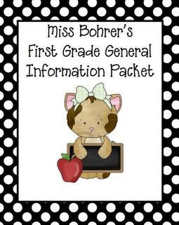 1st grade blog: Teaching Ideas, School Year, School Ideas, Take Home Bags, Parent Guide, Classroom Ideas, First Grade, 1St Grade