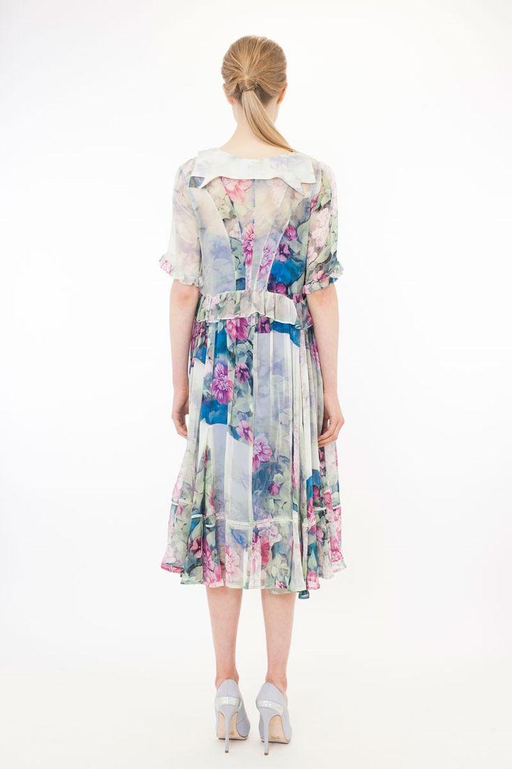 PAINTED LADY DRESS - FLORAL WASH TCSPRING2014 : Trelise Cooper-Dresses : Trelise Cooper Online