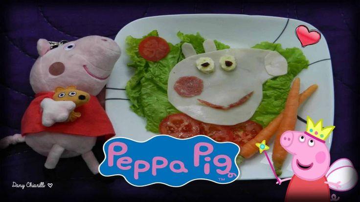 COMIDA DE PEPPA PIG / Ensalada de PEPPA PIG