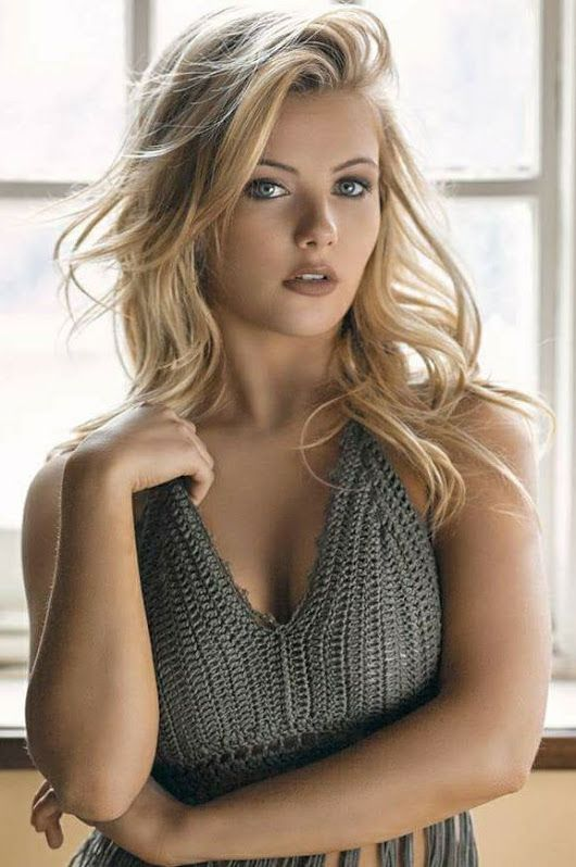 Remarkable, very blonde hair nude models