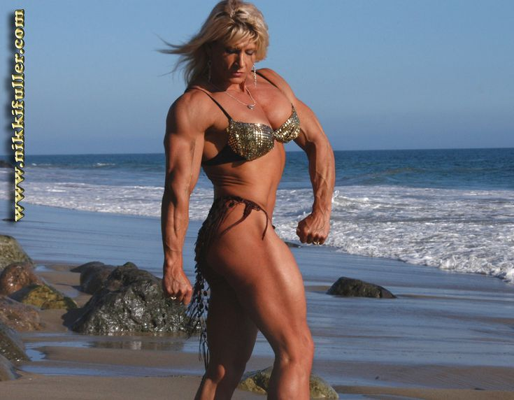 Nikki Fuller is the greatest bodybuilder of all time.