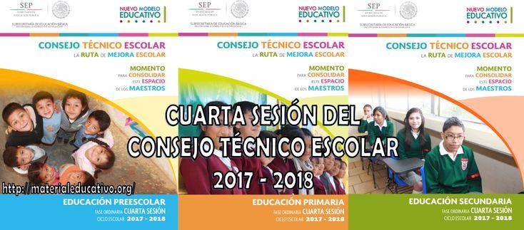 Guías de la cuarta sesión del consejo técnico escolar ciclo 2017 – 2018 del mes de enero - https://materialeducativo.org/guias-de-la-cuarta-sesion-del-consejo-tecnico-escolar-ciclo-2017-2018-del-mes-de-enero/