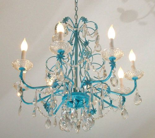 s 15 expensive looking lighting ideas that might surprise you, lighting, repurposing upcycling, Add a fresh coat of color and embellishments