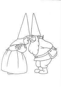 david kabouter google zoeken david the gnomekids coloringcoloring pageschristmas - Garden Gnome Coloring Pages