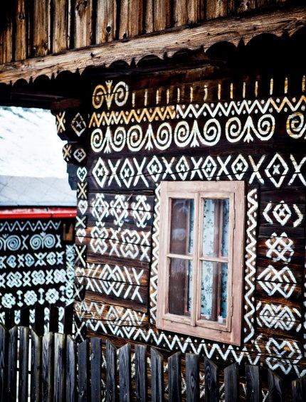 Cicmany, a small Slovakian village