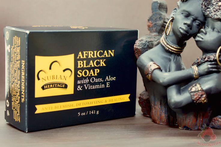 Африканское черное мыло Nubian Heritage. IHerb