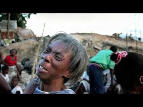 Haiti tremblent de terre - Haiti Earthquake - Courage - Croix-Rouge - haitian - haitien