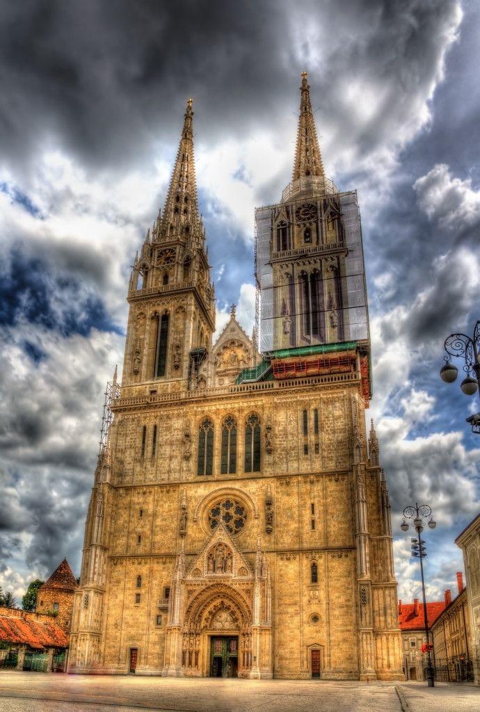Zagreb Cathedral on Kaptol – Croatia