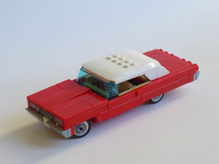 https://flic.kr/p/GPFMpy | Impala 4.0 | The old 7w Impala has undergone several changes over the years, however, it didn't quite fit into the 1/35 scaIe I try to keep with the passenger cars. That's why I shortened wheelbase and overall length which rather improves the aesthetics in my opinion. Plus there are a few minor changes.