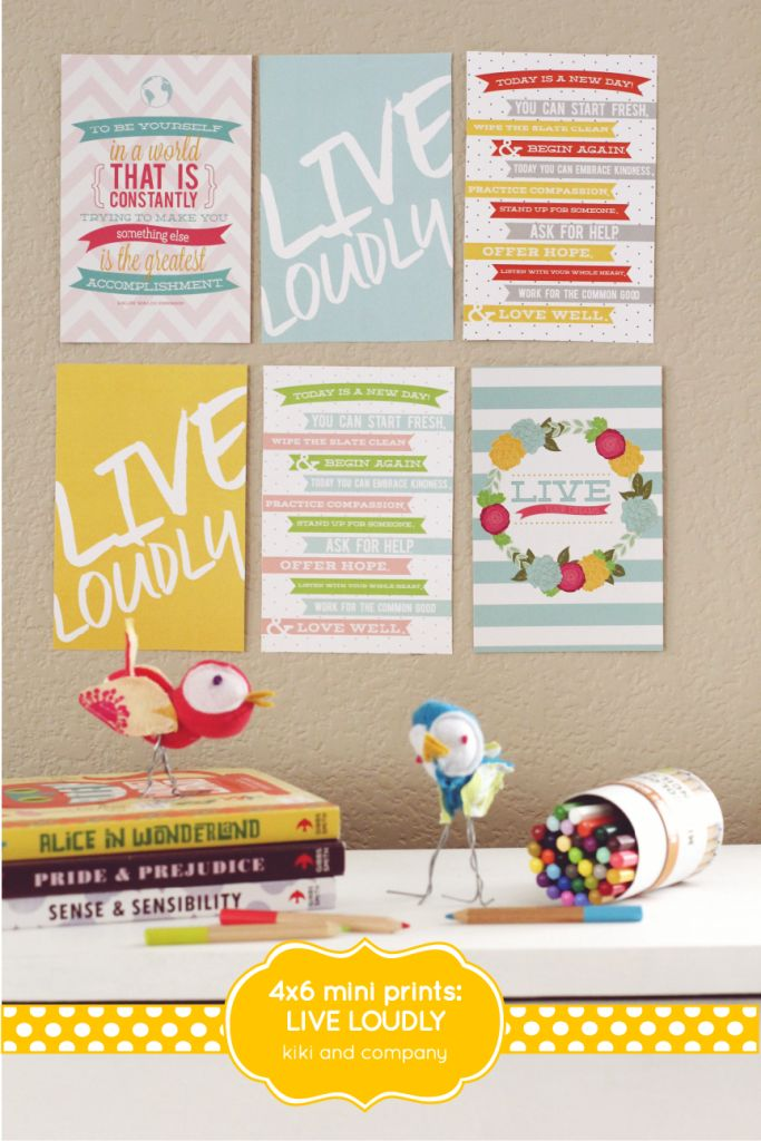 Free printable quote Mini Prints ^^
