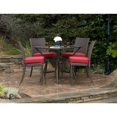 349 34 table better homes and gardens rushreed height - Better homes and gardens dining set ...