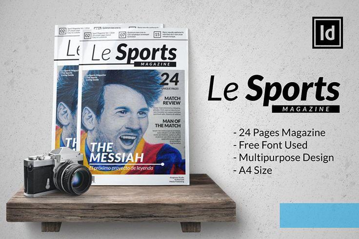 Le Sports MGZN_pixelo #magazine #template