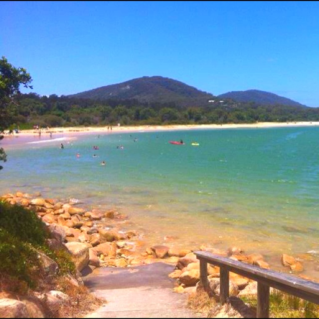 Trial Bay, NSW Australia.. Crystal clear water and squeaky clean sand!