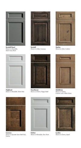 Kitchen Cabinets - styles