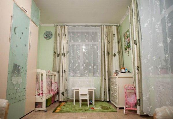 Детская для малыша в однокомнатной квартире