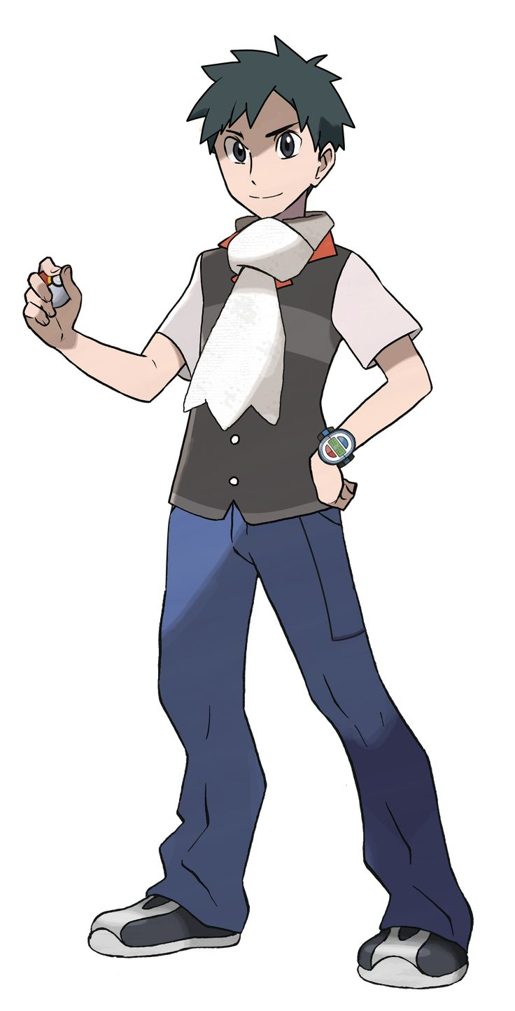 Older Pokemon Human Characters Pokemon Characters Pokemon