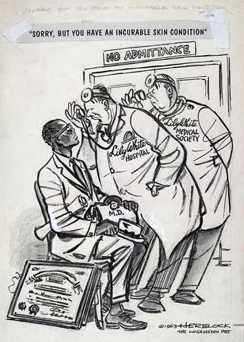 herblock political cartoon Herblock, a washington post cartoonist whose witty and frequently ferocious drawings provided some of the most memorable images in the history of american political discourse and earned him.