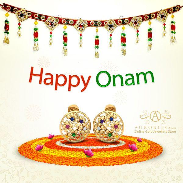 Aurobliss.com Wishes Everyone A Very Happy Onam