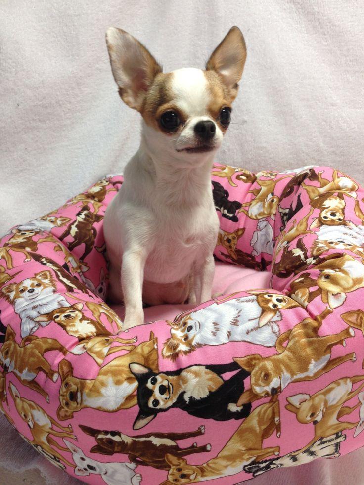 Cotton Dog Bed Round