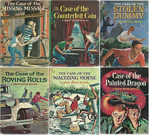 Brains Benton Mysteries Complete Set Of Whitman Editions