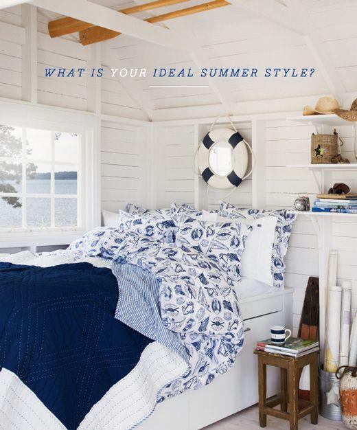 The Hamptons summer style