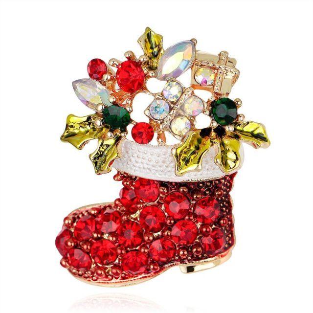 Rhinestone Charm Garment Decoration Christmas Shoe Brooch Fashion Jewelry Pin   eBay