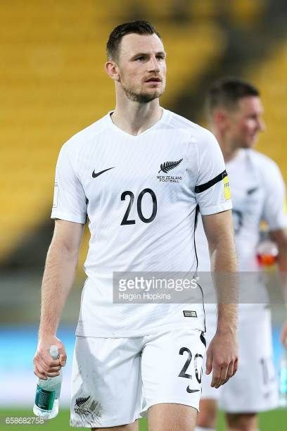 Tommy Smith of New Zealand looks on after the 2018 FIFA World Cup Qualifier match between the New Zealand All Whites and Fiji at Westpac Stadium on...