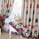 [Долина] дети Габлер оттенок ткани штор на заказ девочка мальчик мультфильм детская комната * Микки Маус - Taobao