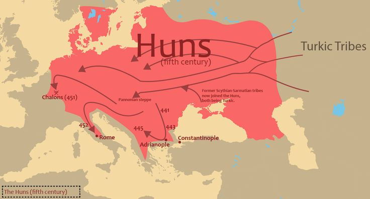 Hun Turks , also known as Xiong-nu , Hephthalite Empire, The Hunnic Empire...Atilla the Hun; A Turkish Leader in Europe