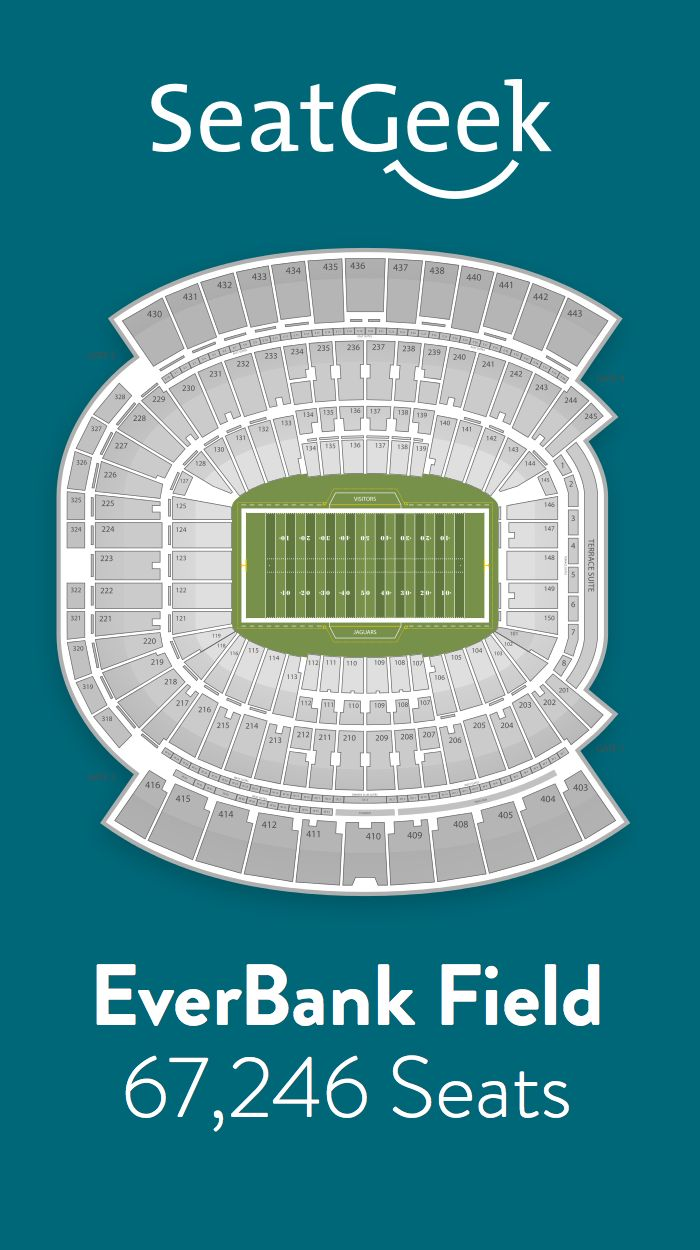 Find the best deals on Jacksonville Jaguars tickets and know exactly where you'll sit with SeatGeek.