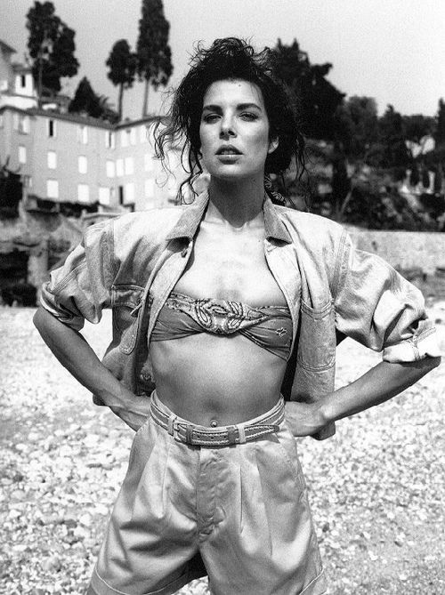 -Caroline of Monaco-1988 by Bettina Rheims