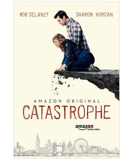 Catastrophe (Amazon Prime) | In this British import about a couple who decides to get hitched after a one-week fling results in a baby, Irish comedian Sharon Horgan plays one half of the extremely dysfunctional couple (American Rob Delaney plays her husband).