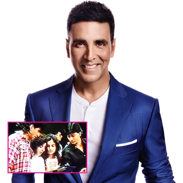 Did you know Akshay Kumar debuted as a judge on stage 27 years ago at Sajid Khan's college? #FansnStars