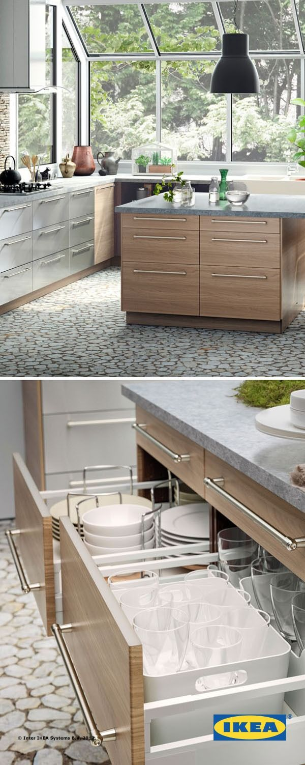 I Love The Idea Of Kitchen Drawers Instead Cabinets That Can Never Get To Back Except Crawling On My Belly