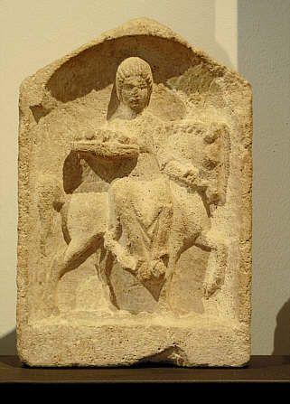 Epona, goddess of horses or fertility? :: RomanDodecahedron.com