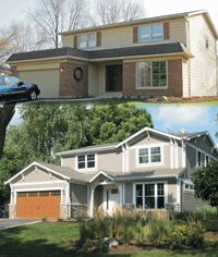 1000 images about ugly house makeovers on pinterest before after home exterior home House transformations exterior