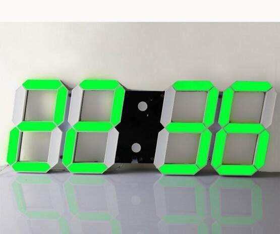 Large Digital Led Wall Clock For Modern Home