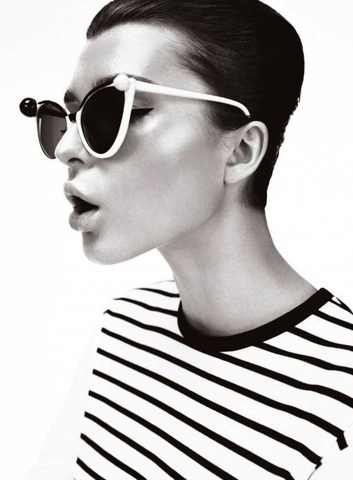 Fall 2013 Trend: Black and White #fashion #inspiration