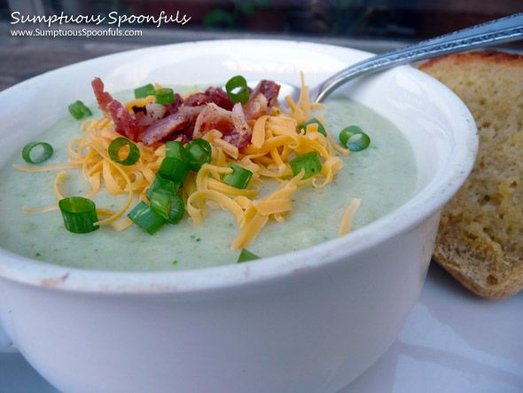 Easy Schmeasy Cheesy Broccoli Potato Soup | Recipe