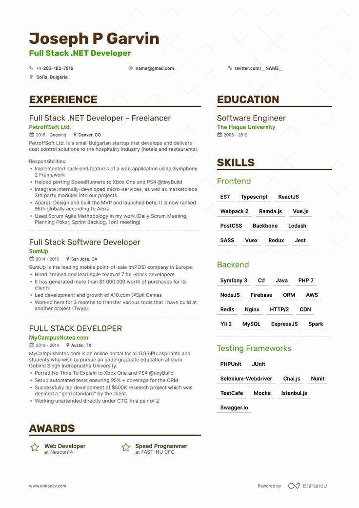25 Full Stack Java Developer Resume (With images) Full